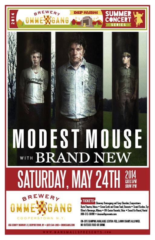 Modest Mouse announce show with Brand New